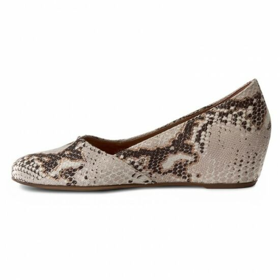 Högl kígyóbőr mintás telitalpú cipő