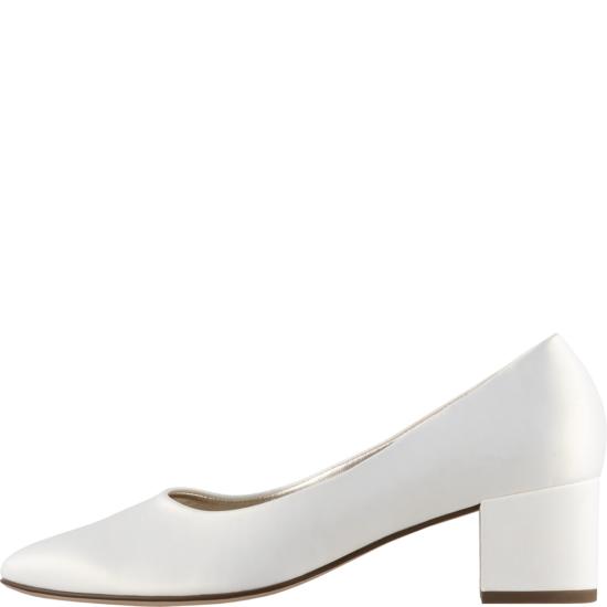 Högl fehér alkalmi cipő
