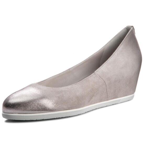 Högl szürke telitalpú cipő