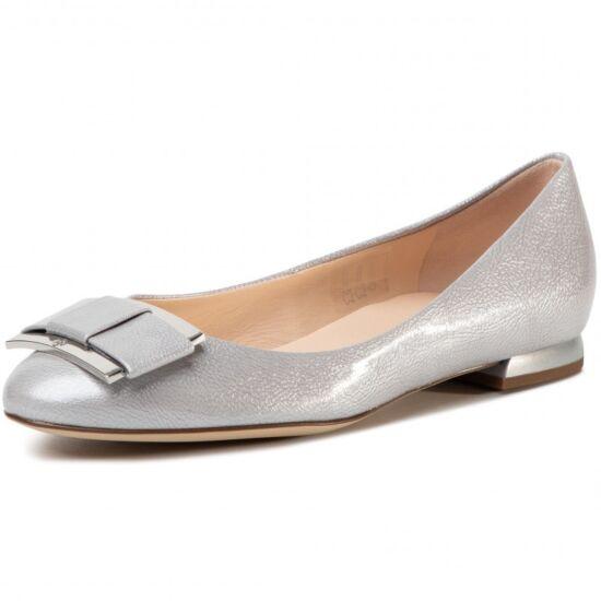 Högl silver csatos alkalmi balerina
