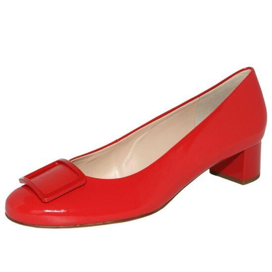 Högl piros csatos alkalmi cipő