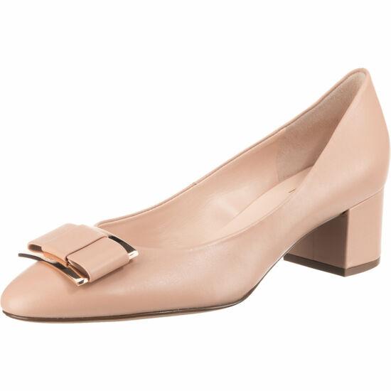 Högl nude csatos alkalmi cipő