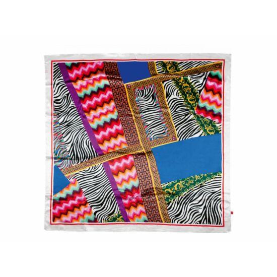 Högl színes selyem sál