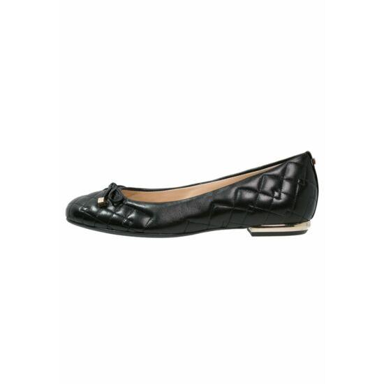 Högl varrott fekete balerina cipő