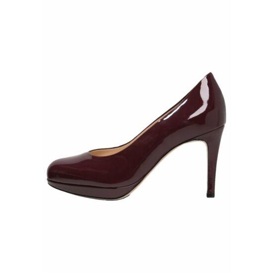 Högl bordó alkalmi cipő