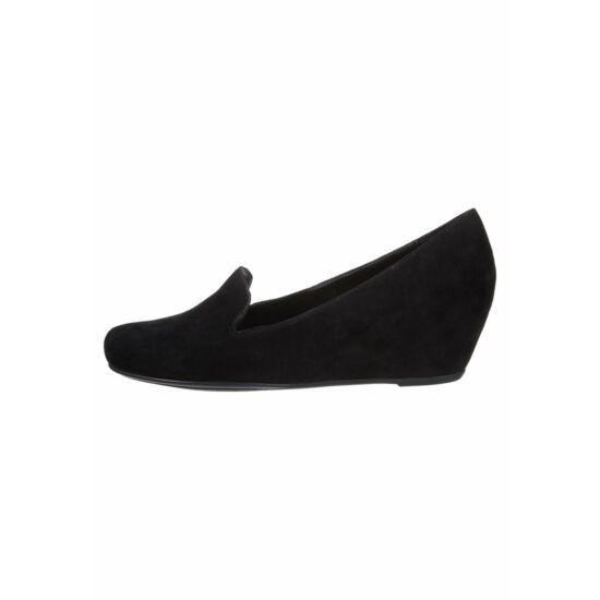 Högl fekete telitalpú cipő