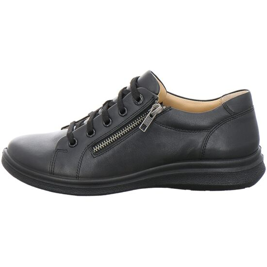 Jomos bőr női félcipő cipzárral
