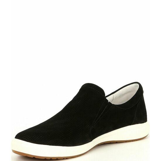 Josef Seibel Caren 22 fekete bebújós női cipő