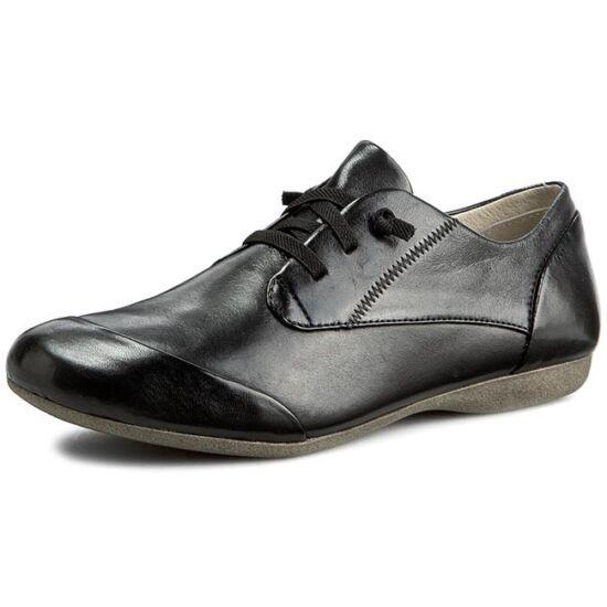 Josef Seibel fekete utcai női cipő