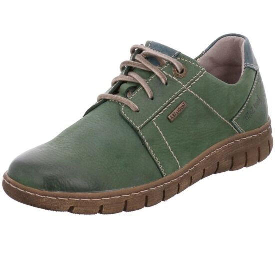 Josef Seibel zöld utcai női cipő Top Dry Tex