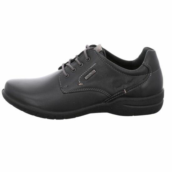 Josef Seibel fekete utcai női cipő Top Dry Tex