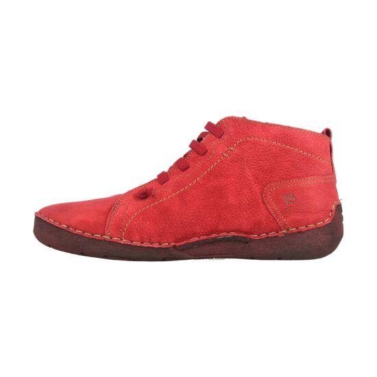 Josef Seibel Fergey 86 piros női magasszárú cipő
