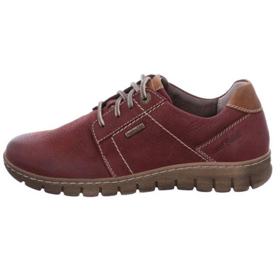 Josef Seibel bordó utcai női cipő Top Dry Tex