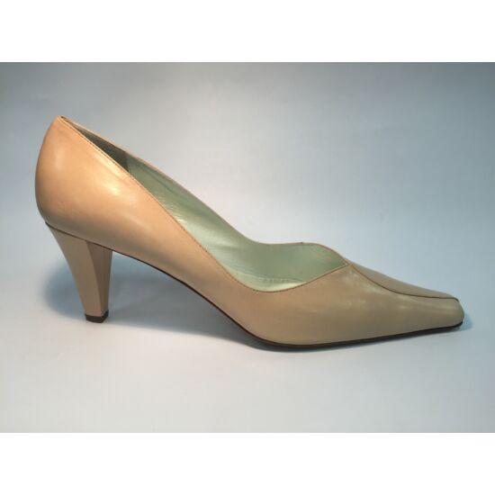 Moda di Fausto nude alkalmi cipő