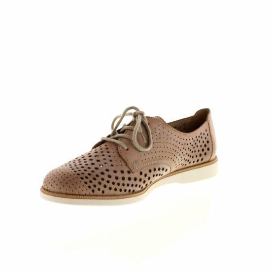 Remonte barna lyukacsos cipő