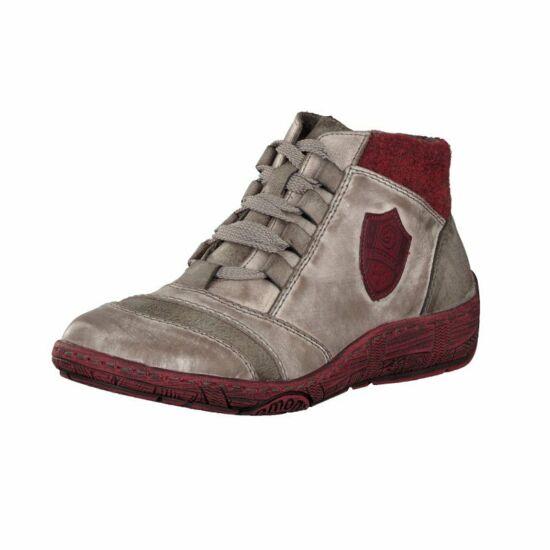 Remonte szürke magas szárú cipő