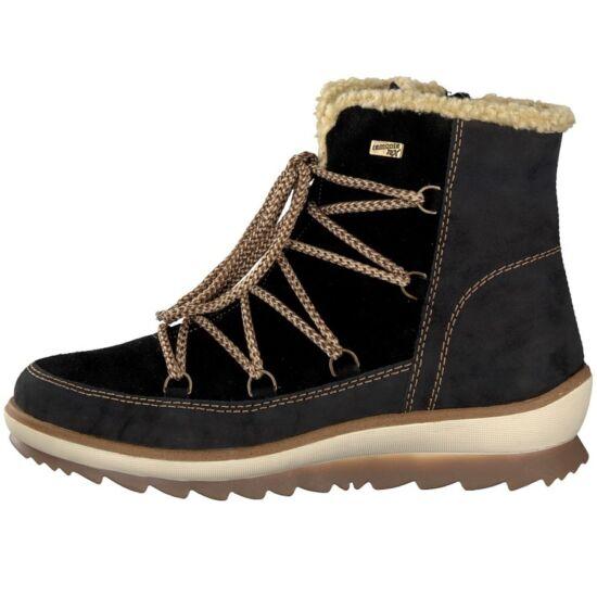 Remonte fekete magas szárú cipő REMONTE TEX