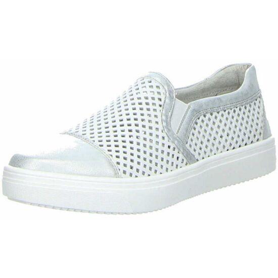 Remonte fehér lyukacsos cipő