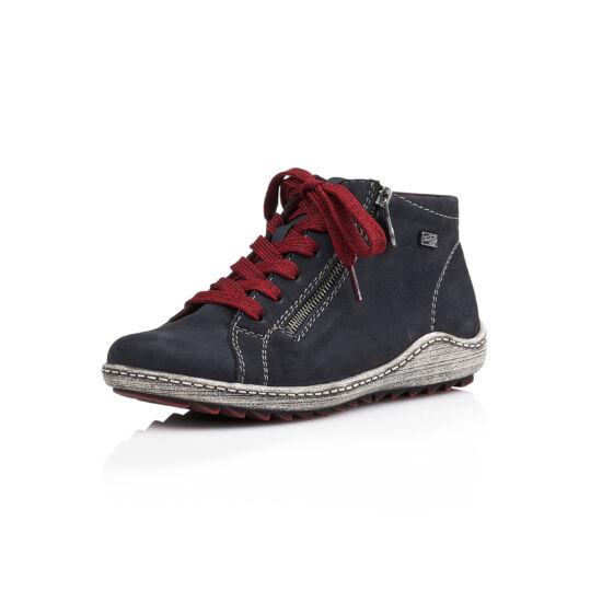 Remonte sötétkék magas szárú cipő REMONTE TEX