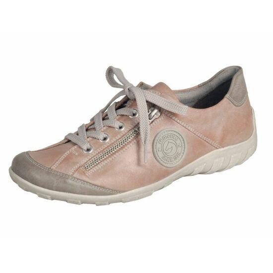 Remonte koptatott rózsaszín cipő