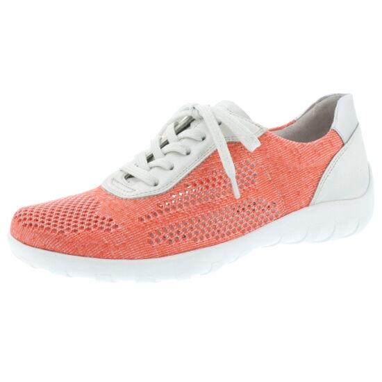 Remonte korall lyukacsos nyári cipő