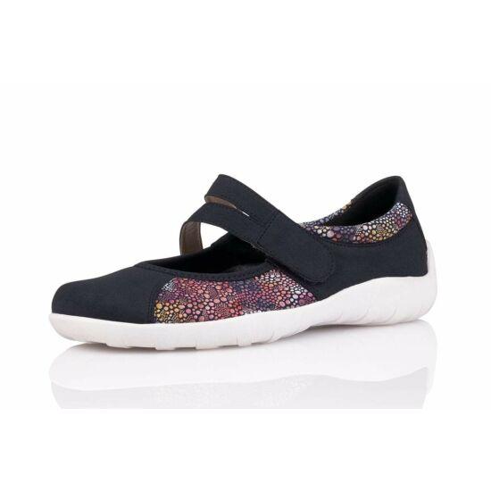 Remonte sötétkék kombi cipő