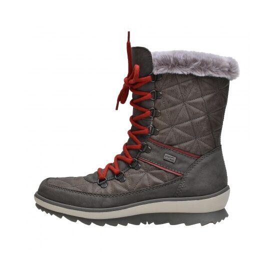 Remonte szürke magas szárú cipő REMONTE TEX