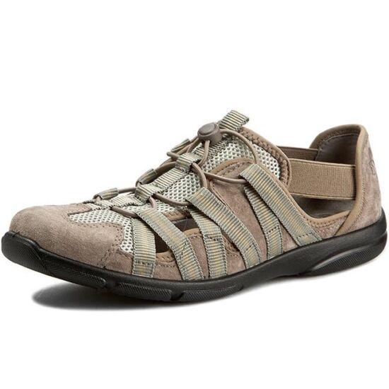 Romika Traveler 01 bézs velúr nyári cipő