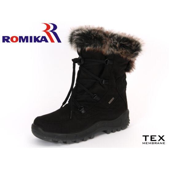 Romika női fekete hótaposó TopDryTex