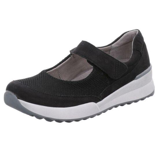 Romika fekete nyári cipő