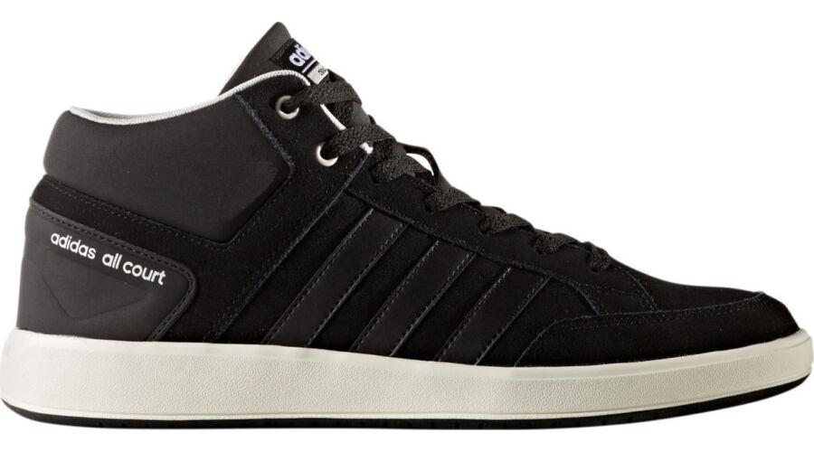 Adidas CF All Court Mid fekete magas szárú cipő - 49 1 3 - Óriás ... 5b8847e85e