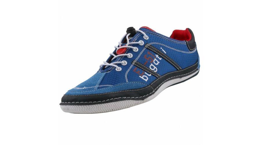 Bugatti kék cipő - 48 - Óriás-Shop nagyméretű férfi ruhák és női ... 69025deb3b