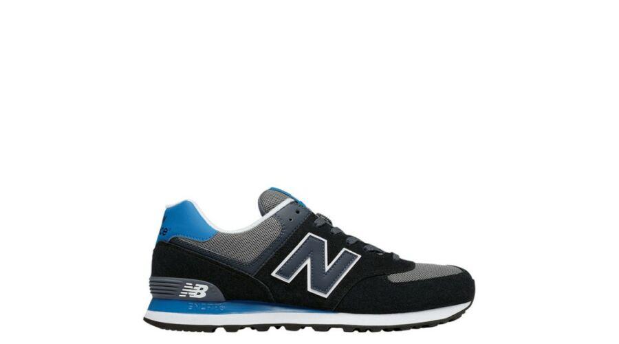 New Balance fekete-kék-szürke sportcipő - 49 - Óriás-Shop nagyméretű ... 4632c94244
