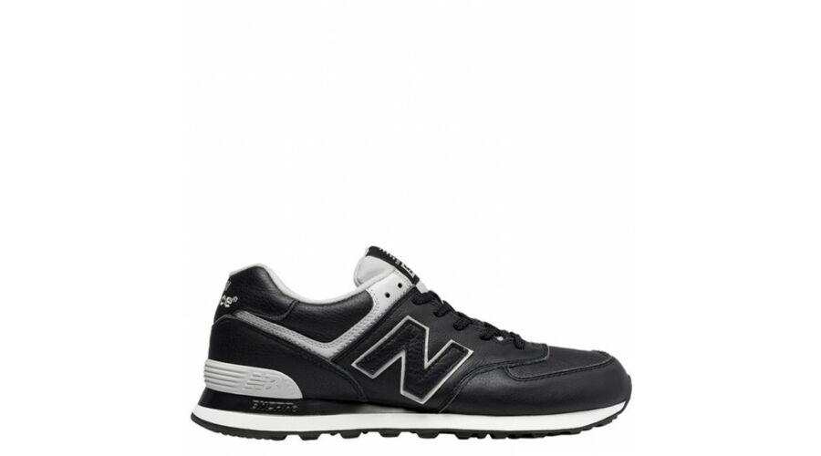 New Balance fekete bőr sportcipő - 50 - Óriás-Shop nagyméretű férfi ... 6c433dd0f5