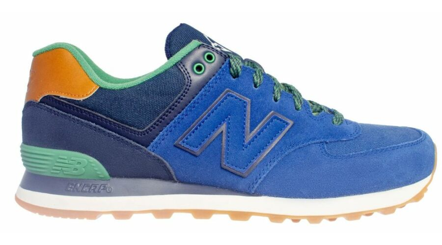 New Balance kék-színes sportcipő - 49 - Óriás-Shop nagyméretű férfi ... 6e7424513c