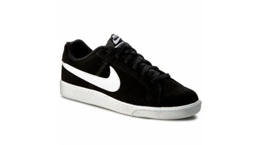 Kép 1 2 - Nike Court Royale Suede fekete bőr utcai cipő. Loading zoom. Katt  rá a felnagyításhoz 09bcae8fde