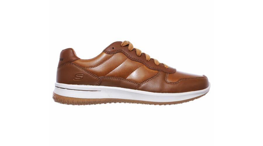 Skechers barna férfi bőr utcai cipő - 47 1 2 - Óriás-Shop nagyméretű ... 036f57e262