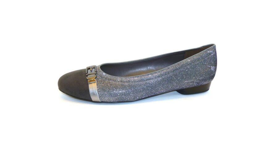 9e75cea9e4 Ara Jenny ezüstösen csillogó balerina cipő - 43 - Óriás-Shop ...