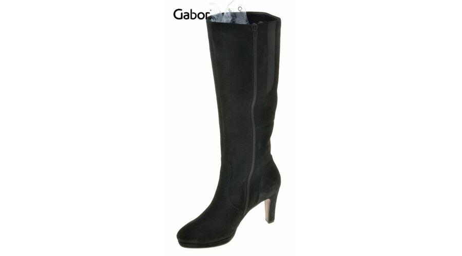 Gabor fekete női velúr csizma - 42 1 2 - Óriás-Shop nagyméretű férfi ... 9ba860c848