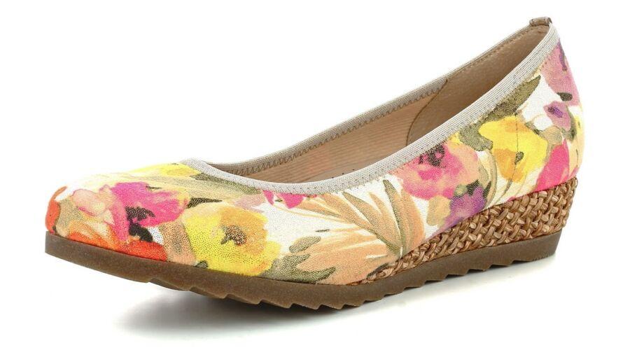 Gabor virágmintás telitalpú cipő - 42 1 2 - Óriás-Shop nagyméretű ... f3f5d24e95