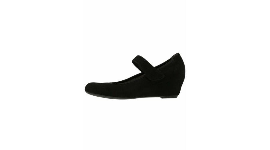 Gabor fekete pántos telitalpú cipő - 42 1 2 - Óriás-Shop nagyméretű ... a3d75475e2