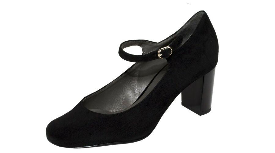 Högl fekete pántos alkalmi cipő - 44 - Óriás-Shop nagyméretű férfi ... bce6396fb8