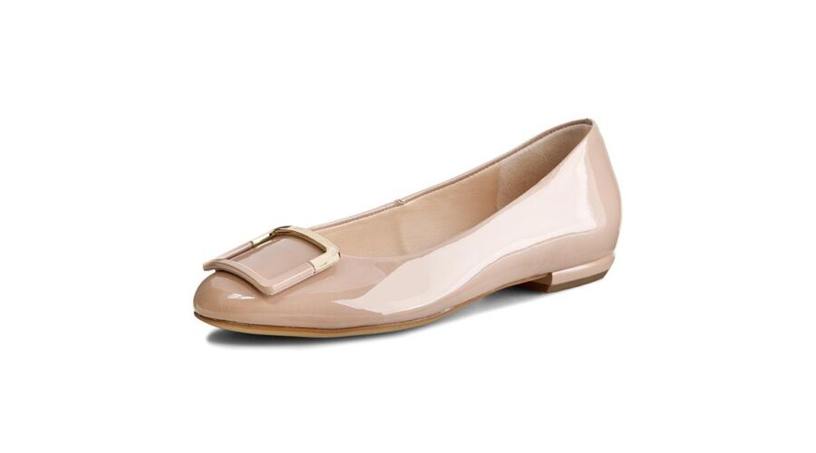Högl beige csatos balerina cipő - 42 - Óriás-Shop nagyméretű férfi ... 242e3c6cb3
