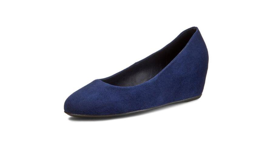 Högl kék telitalpú cipő - 42 - Óriás-Shop nagyméretű férfi ruhák és ... 49880f5167