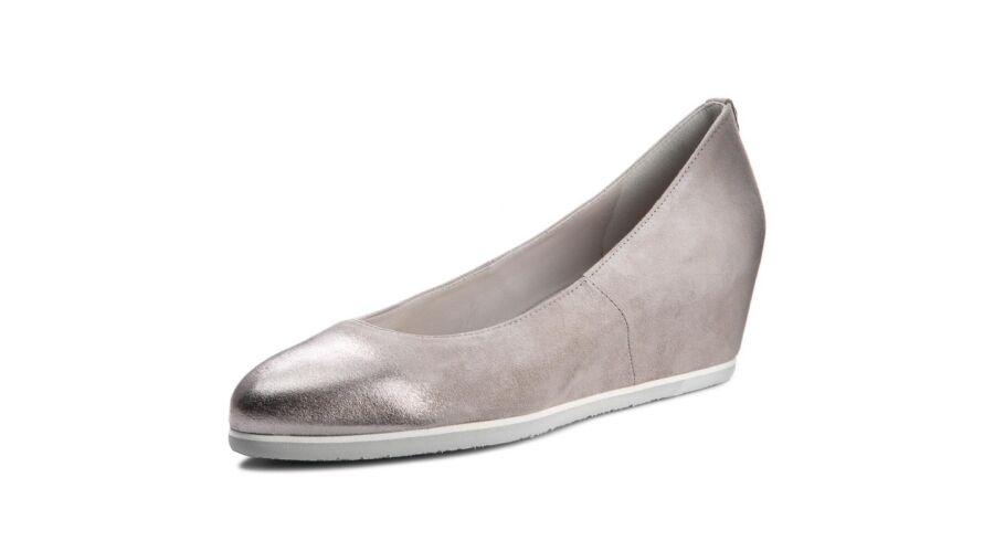 53953e4c47 Högl szürke telitalpú cipő - 42 1/2 - Óriás-Shop nagyméretű férfi ...