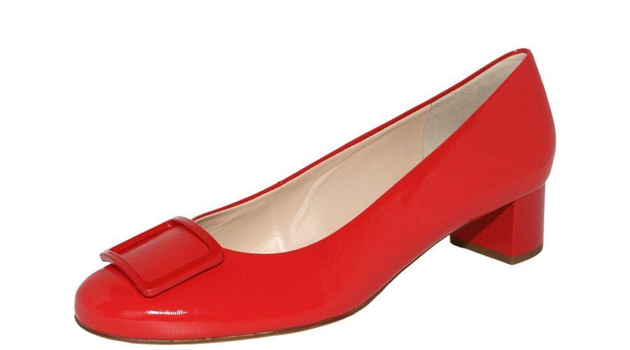 Högl piros csatos alkalmi cipő - 42 - Óriás-Shop nagyméretű férfi ... 9aed06fec0