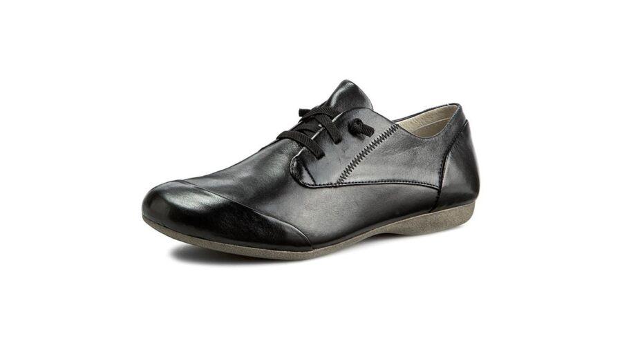 Josef Seibel fekete utcai női cipő - 43 - Óriás-Shop nagyméretű ... d87e9a3af3