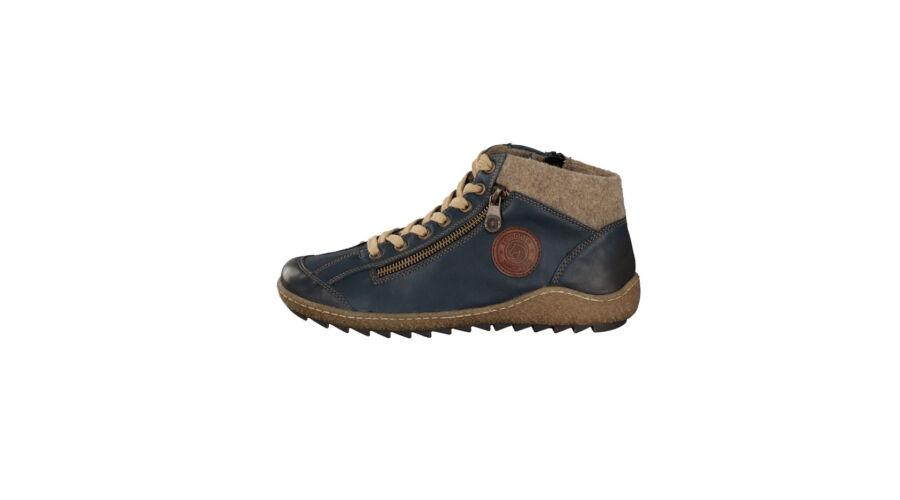 Remonte sötétkék magas szárú cipő cipzárral - 44 - Óriás-Shop ... 84313b20ba