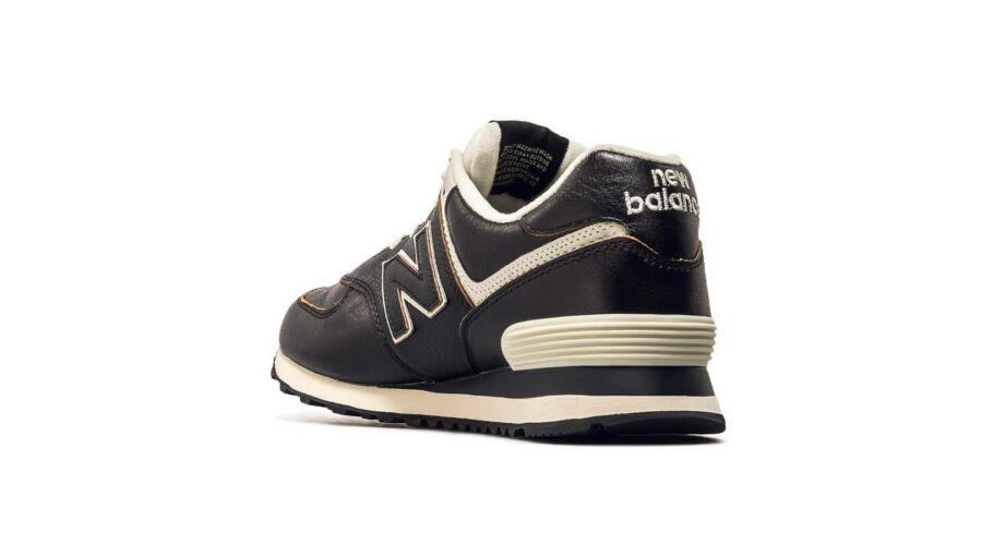New Balance fekete bőr sportcipő - 49 - Óriás-Shop nagyméretű férfi ... 974adfcda9