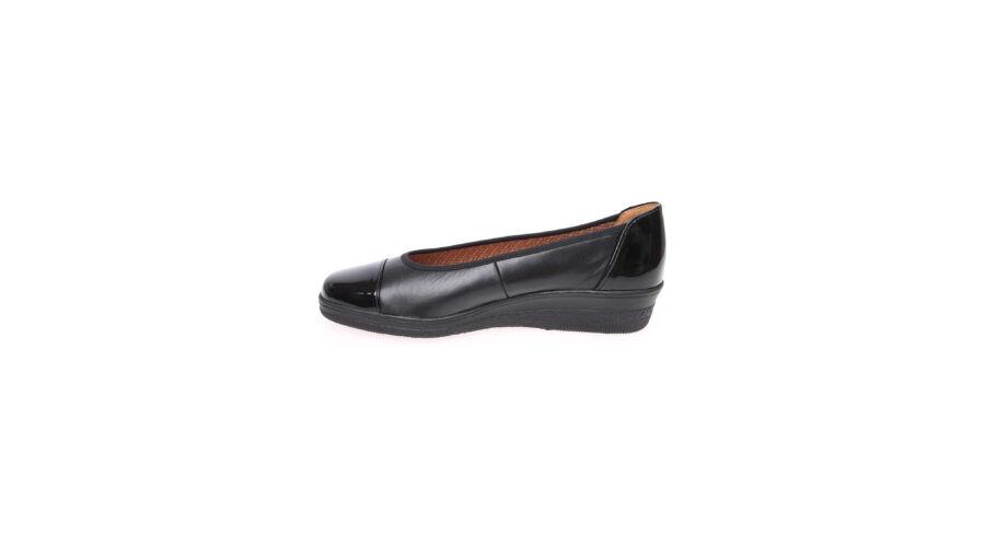 Gabor fekete cipő lakk betétekkel - 42 1 2 - Óriás-Shop nagyméretű ... 420b8fe973
